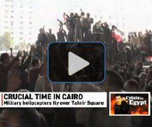 VIDEO: Call for general strike in Cairo
