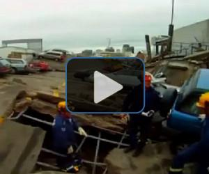 VIDEO: Christchurch rescue efforts