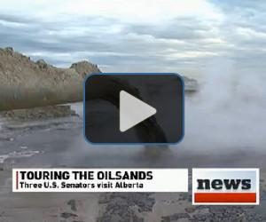 VIDEO: Senators tour oil sands