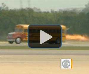 Watch the Jet Powered bus in action