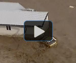 Watch: Massive flood threatens Brisbane
