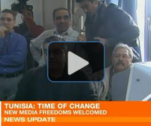 Tunisian media experiences new freedom