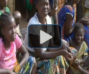 Ivorian refugees flee to Liberia